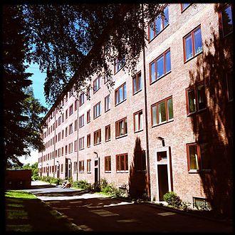 Jens Gram Dunker - Myrahagen borettslag in Oslo. 1938