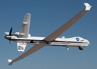 National Airspace System - NASA's remotely-piloted Ikhana prepared for its public airspace flight