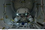 NASA astronaut Tracy Caldwell Dyson, Expedition 24 Quest Airlock.jpg