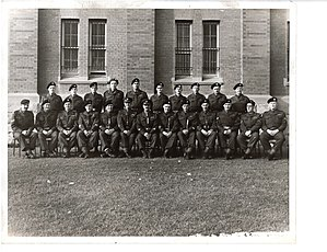 41 Service Battalion - NCOs of 150 Coy, RCASC at Mewata Armoury