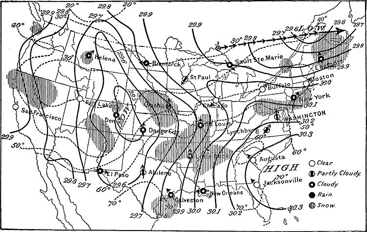 NIE 1905 Meteorology - weather map for April 3, 1892, 8 a.m.jpg