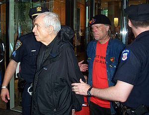 Daniel Berrigan - Daniel Berrigan is arrested for civil disobedience outside the U.S. Mission to the U.N. in 2006