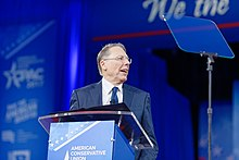 NRA Wayne LaPierre at CPAC 2017 on February 24th 2017 a by Michael Vadon 02.jpg