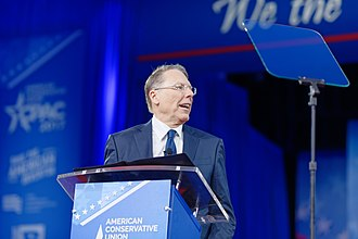 American Conservative Union - Image: NRA Wayne La Pierre at CPAC 2017 on February 24th 2017 a by Michael Vadon 02