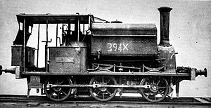 New South Wales X10 class locomotive - Locomotive 1001 (former 394X)