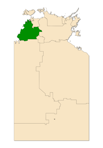 Electoral division of Daly - Daly in the Northern Territory