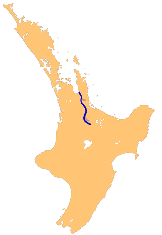 Waihou River - The Waihou River system