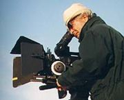 Naceur Ktari en tournage en 2000