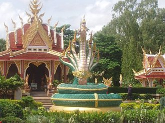 Ban Dung District - Shrine in Sri Sut Tho