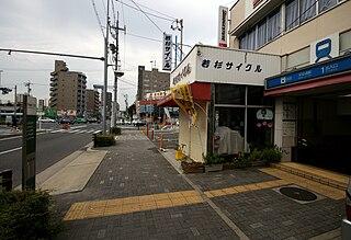 Heian-dōri Station metro station in Nagoya, Aichi prefecture, Japan