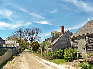 Nantucket Historic District - Historic cottages in Siasconset