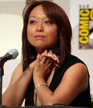 Naoko Mori - Mori at Comic Con 2008.