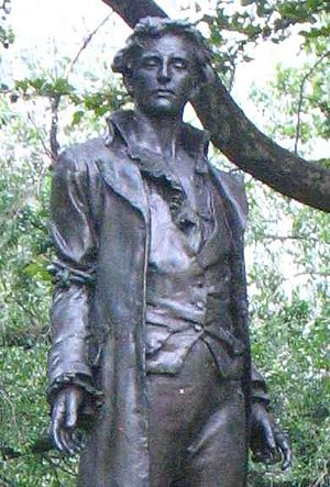 Nathan Hale - Nathan Hale, by Frederick MacMonnies, City Hall Park, New York