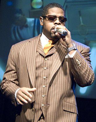 Nathan Morris - Morris performing in 2008