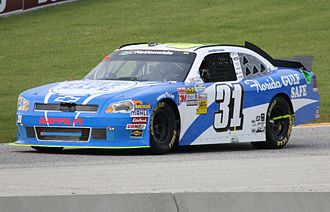 Justin Allgaier - Allgaier at Road America in 2011, where he nearly won