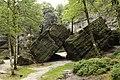 Natural monument Tiské stěny, summer 2014 (7).JPG