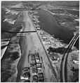 Naval Ammunition and Net Depot, Seal Beach, California. (Aerial view of jetty and coastline.) - NARA - 295515.jpg