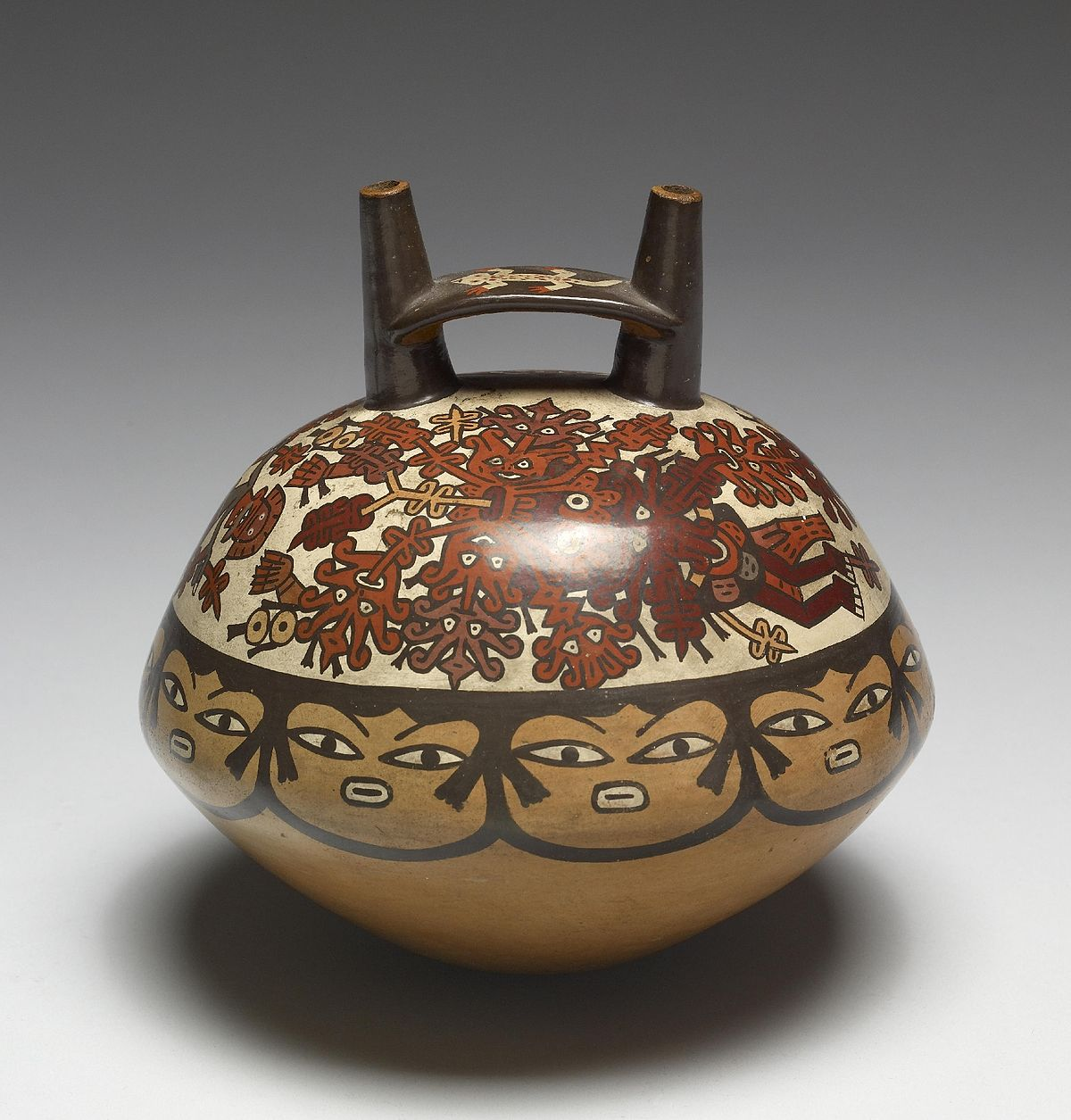Cer mica nazca wikipedia la enciclopedia libre for Origen de la ceramica