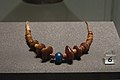 Necklace, amber, glass, Middle Bronze Age, Museum of Western Bohemia, 187798.jpg