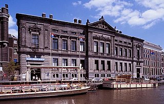 Archaeological museum in Amsterdam, Netherlands