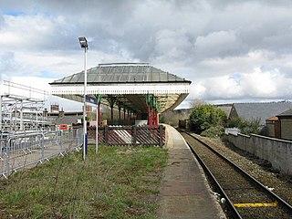 Nelson railway station Railway station in Lancashire, England