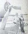 Netty Herawaty at airport Dunia Film 1 Jun 1954 p4.jpg
