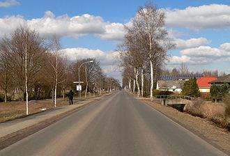 Sassenburg - Image: Neudorf Platendorf Dorfstrasse