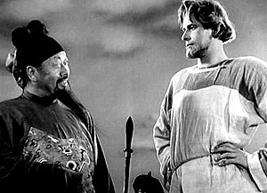 Alexander Nevsky (film) - Alexander (Nikolai Cherkasov) declines a Mongol ambassador's offer to join the Golden Horde