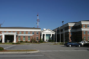 Horry County, South Carolina - Image: New Horry County Courthouse and county office complex, Conway, South Carolina (18 November 2006)