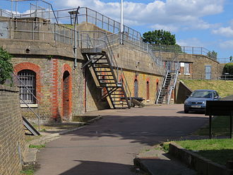 Gravesend - Part of New Tavern Fort