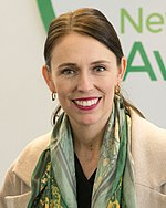 Jacinda Ardern in 2018