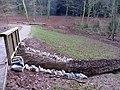New spillway - Soudley - December 2013 - panoramio.jpg