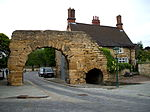 Number 52 and adjoining Newport Arch