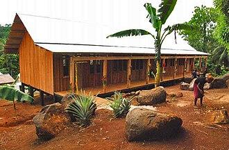Emergency Architects Foundation - School, Ngari, Solomon Islands (2008)