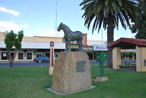 Nhill Horse Statue