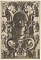 Niche in the Form of a Cartouche from Veelderleij Veranderinghe van grotissen ende Compertimenten...Libro Primo MET DP823060.jpg