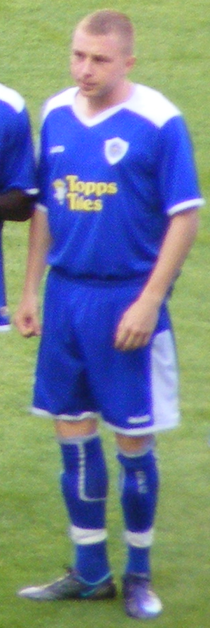 Nicky Adams - Adams playing for Leicester City in 2008