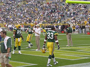 2003 Green Bay Packers season - Image: Nick Luchey, Craig Nall, and William Henderson