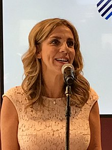 Nicola Mendelsohn at Przestrzeń from Facebook launch meeting, cropped.jpg