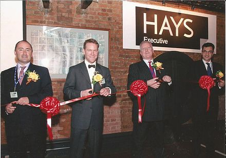 Event to celebrate Hays plc purchasing St. George's Harvey Nash, a Greater China recruitment firm founded by Nigel Cumberland and James Harris. Event held in Hong Kong's FCC in June 2006