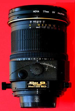 Nikon PC-E Nikkor 24mm f/3.5D ED - Image: Nikkor 24 PC