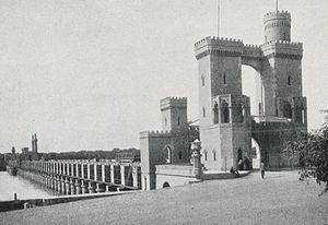 Delta Barrage - The Nile Barrage, as it was termed, in 1906