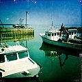 Nine Mile Creek lobster fishermen harbor, Prince Edward Island, Canada - panoramio.jpg