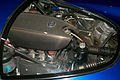 Nissan R390 GT1 (road car) engine room 2015 Nissan Global Headquarters Gallery.jpg