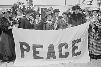 Mary Heaton Vorse - American delegates to the April 1915 International Women's Peace Congress in The Hague.