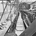 Noordmuur van het schip na demontage van de kap - Utrecht - 20232978 - RCE.jpg