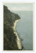 North Boulevard from Arch Rock, Mackinac Isl., Mich (NYPL b12647398-75566).tiff