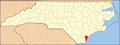 North Carolina Map Highlighting New Hanover County.PNG