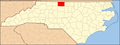North Carolina Map Highlighting Rockingham County.PNG