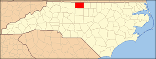 National Register of Historic Places listings in Rockingham County, North Carolina Wikimedia list article